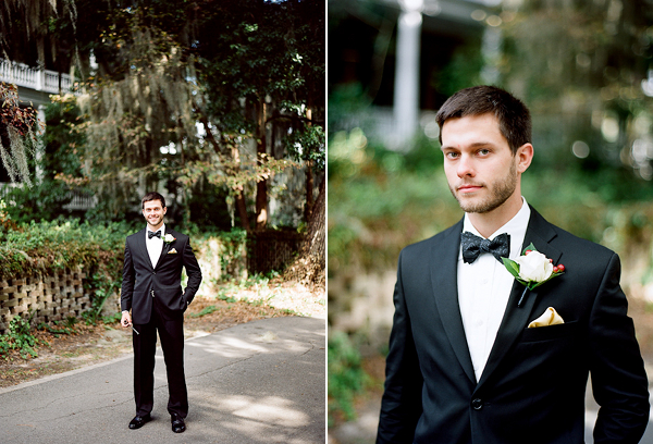 The Groom: what he wears