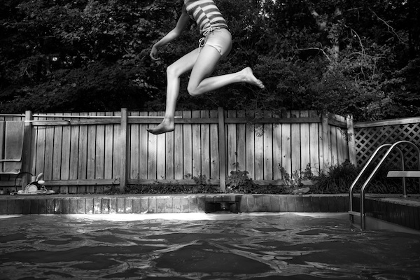 Fun Summer Pool Photos from Illinois photographer Tytia Habing