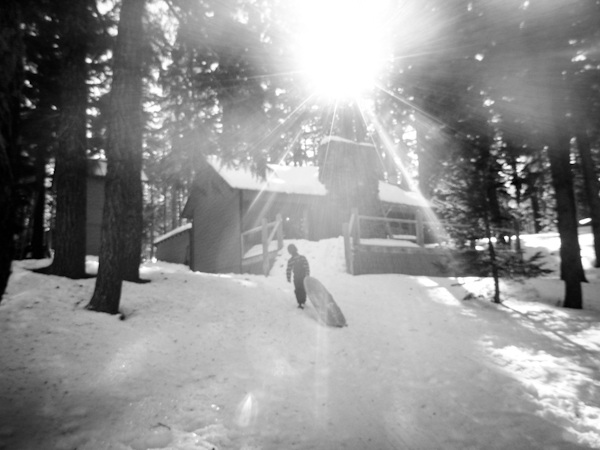 beautiful sunflare photo by Whitney Ulven