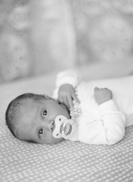 newborn photography on film by California photographer Tanja Lippert