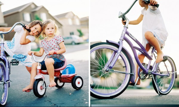 children riding bicylces picture by Jonathan Canlas