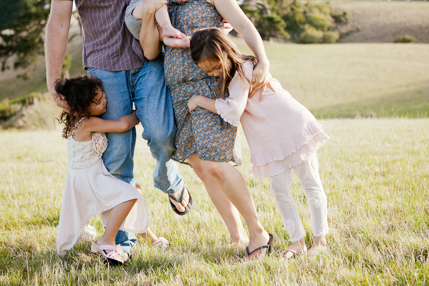 family picture by New Zealand photographer Sam Mothersole