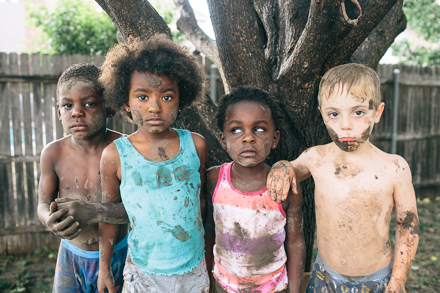 muddy children photograph by casey chappell