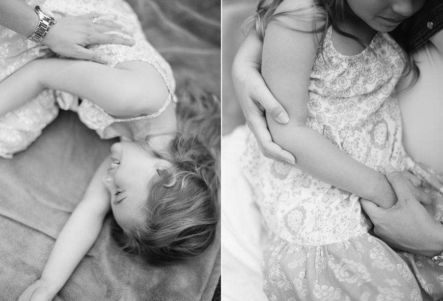 abbie mcfarland's image of girl cuddling with mom