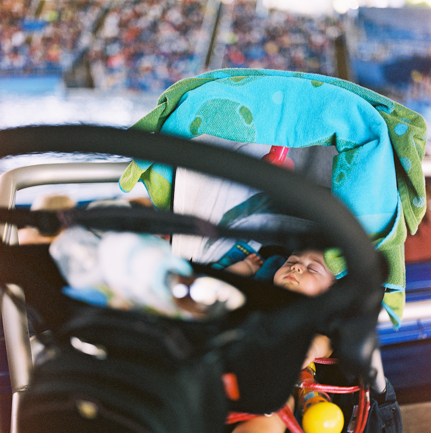 reggie campbell's photo of baby in stroller