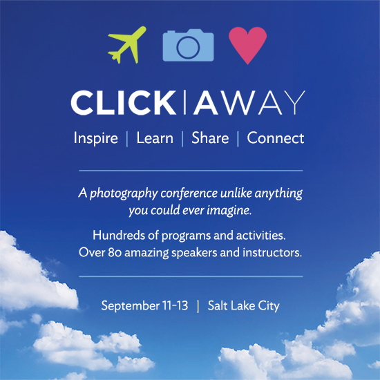 Click Away photography conference in Salt Lake City