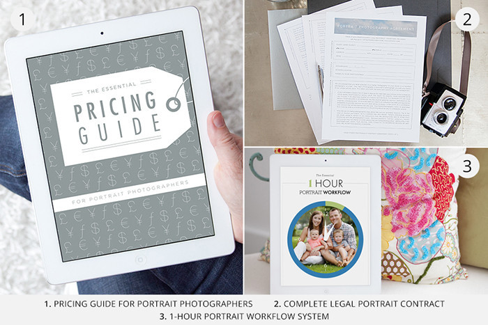 design aglow portrait photography starter bundle
