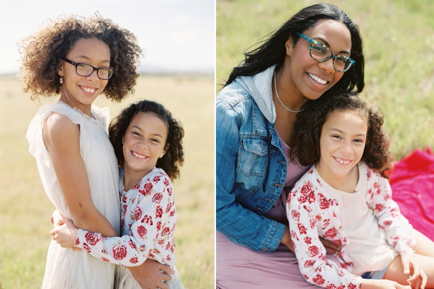 family photographer karyn johnson's images of kia gregory and her daughters