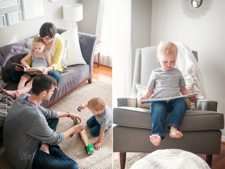 natural light lifestyle family photograph by Alyssa Anne Photography