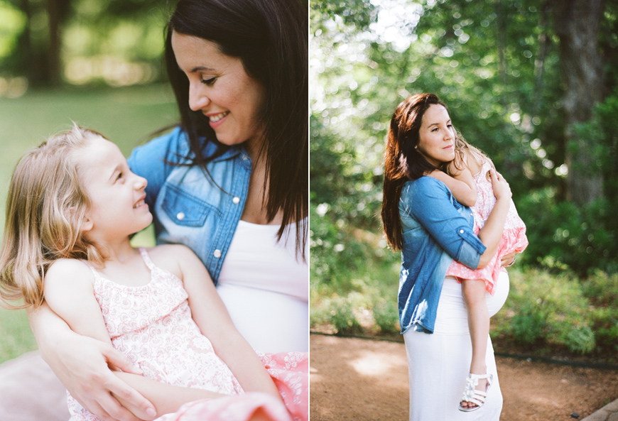 photographer abbie mcfarland's image of mom smiling at daughter