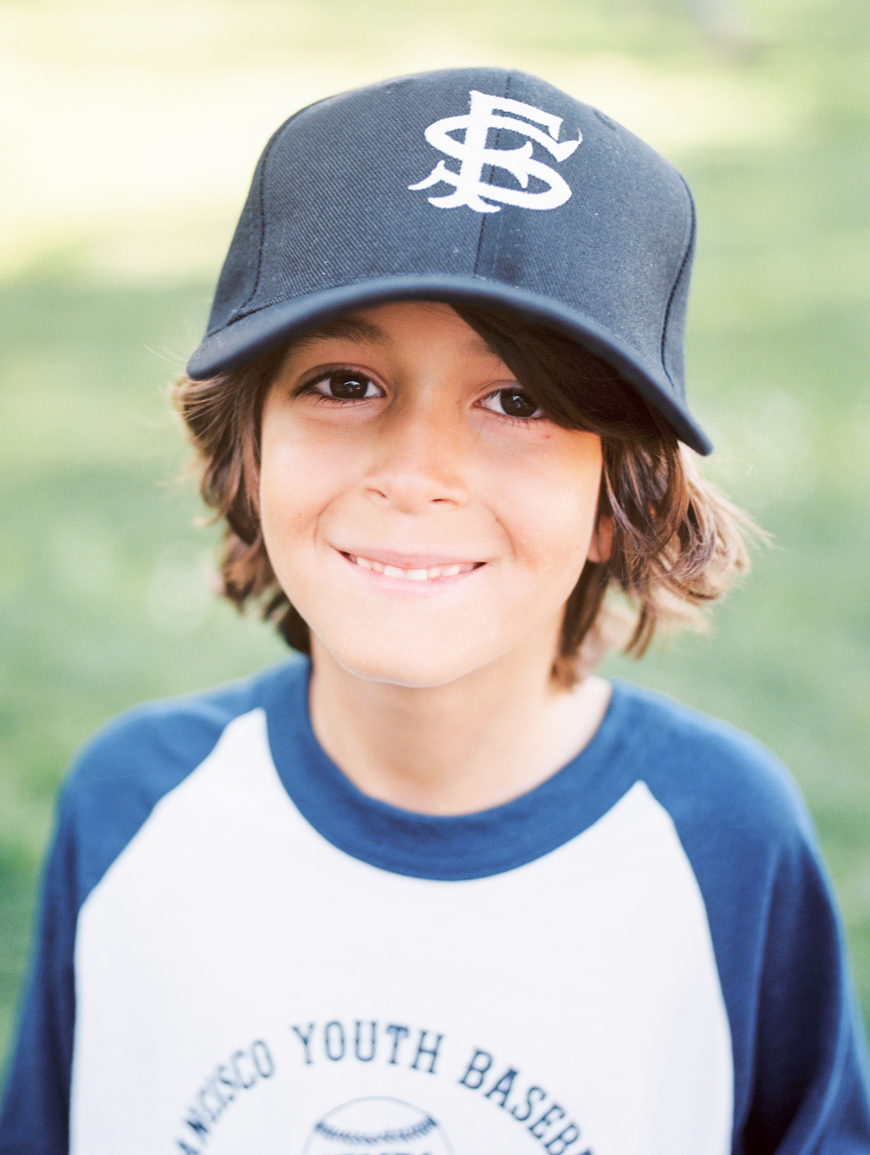 photographer rodeo and co's film image of boy at baseball
