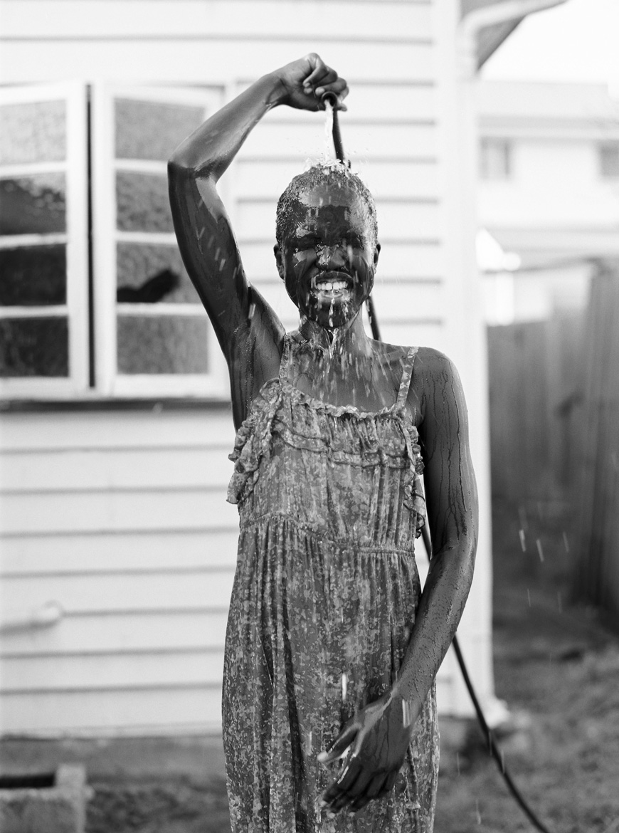 toni raper's amazing image of girl with hose