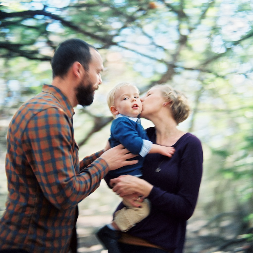 brothers wright's image of family with rollei
