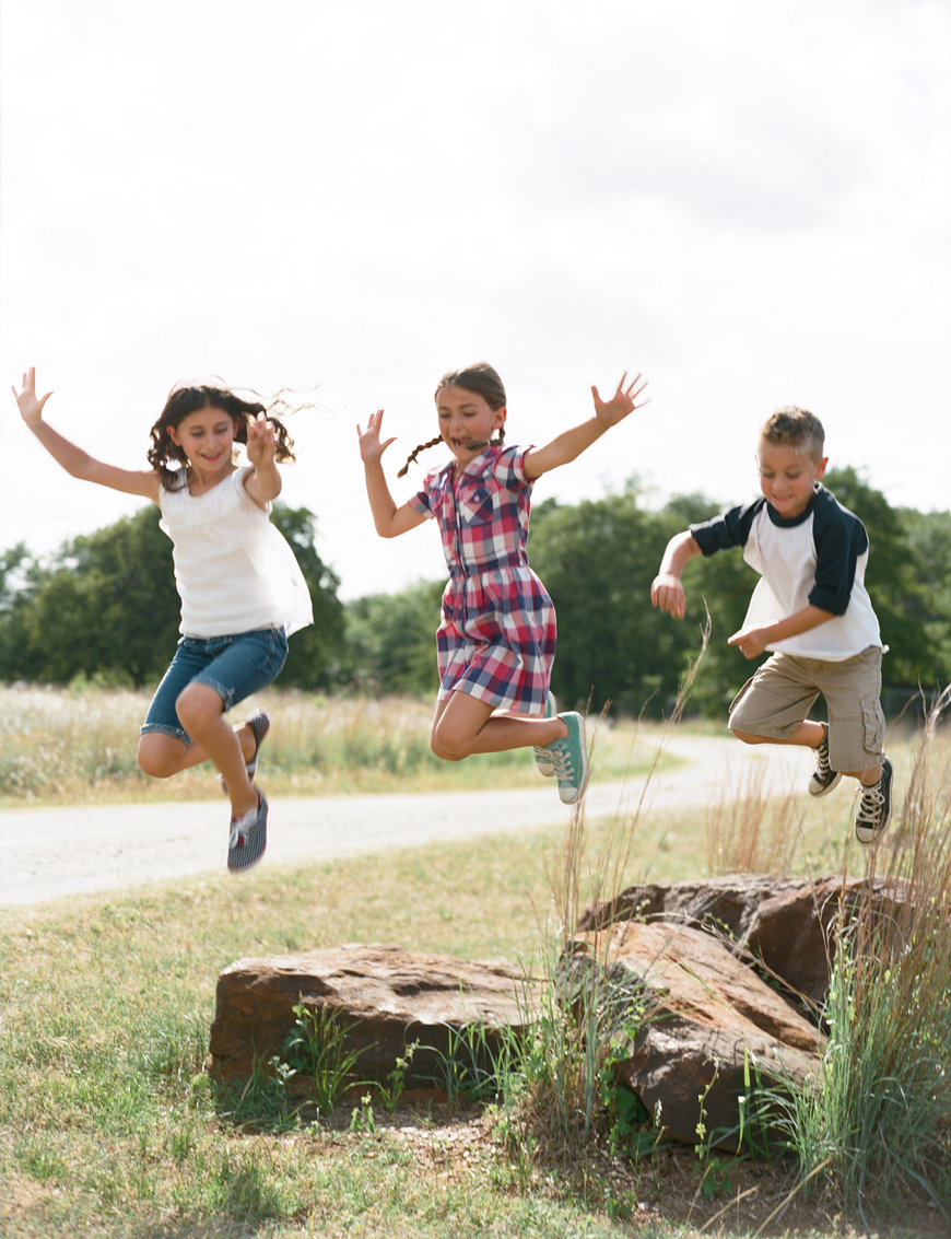 Jenny-McCann's film image of kids jumping-