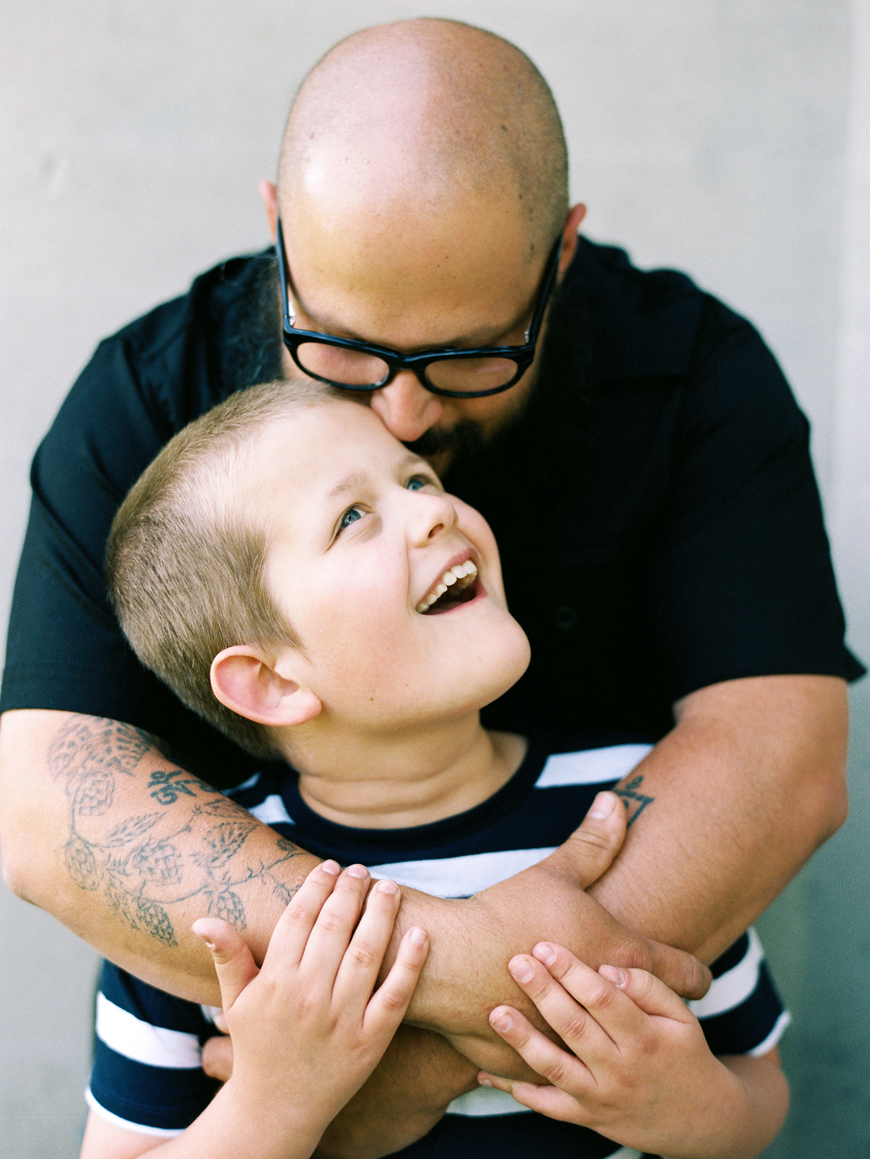 marlia cyree's image of father hugging son