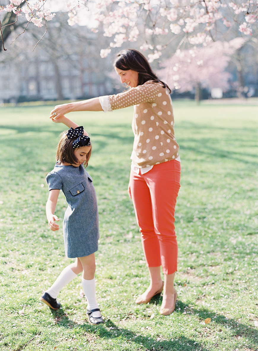 victoria phipp's image of mom twirling daughter