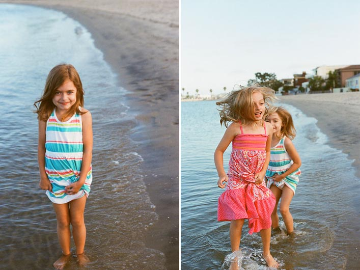 tara whitney's film pic of girls at beach