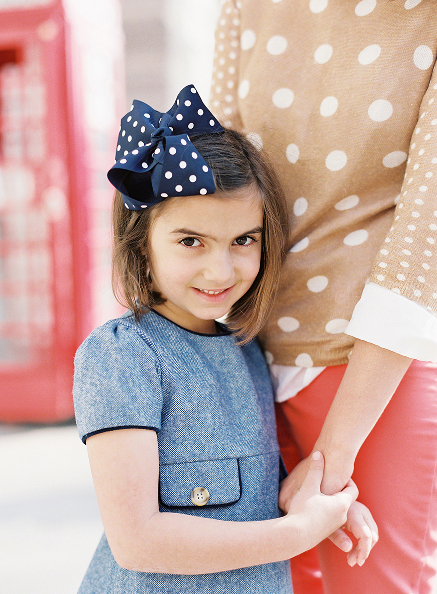 victoria phipp's pic of daughter iwth big polka dot bow