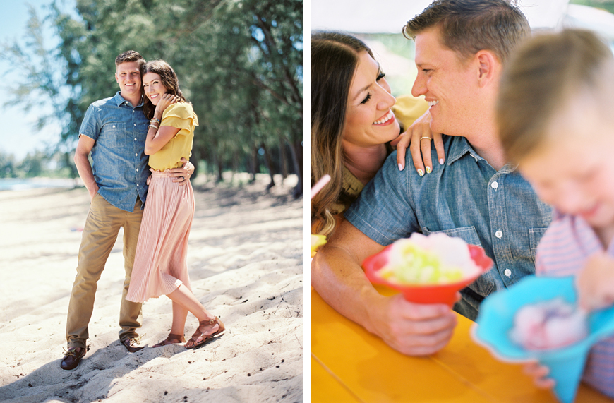 shave ice in family photo session by jon canlas