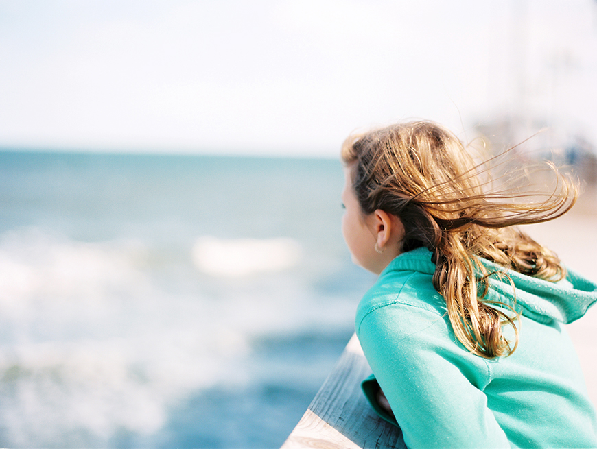 malexander's pic of girl overlooking sea