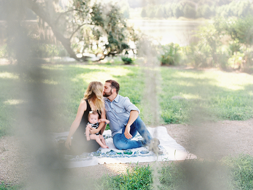 family picture on film by Souther California photographer Valentina Glidden