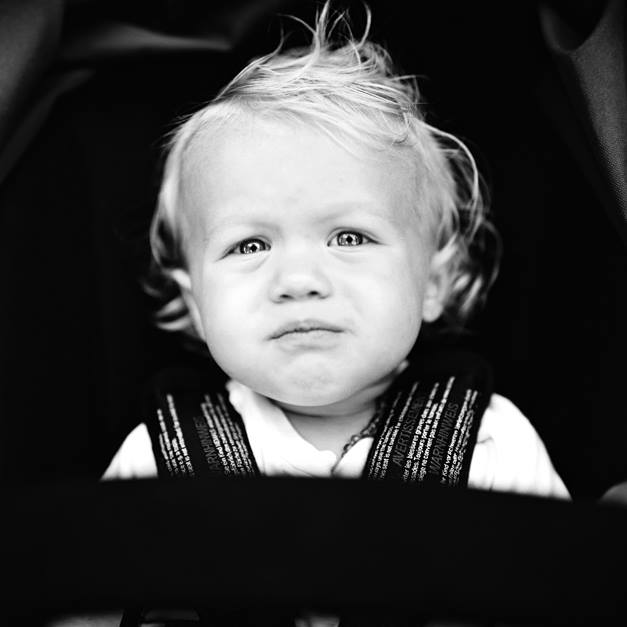 jonathan canlas's image of rachel thurston's son  in black and white