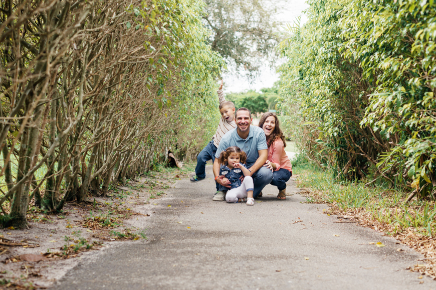 Elaine Palladino's image of family on path