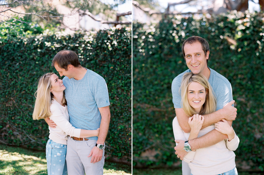 kauai photographer rachel thurston's portrait of husband and wife hugging