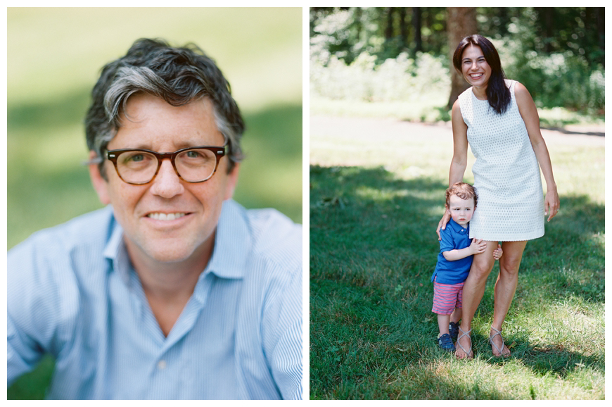 outside portait of dad and mom and son by sarah day boodhoo -nj family photographer.2