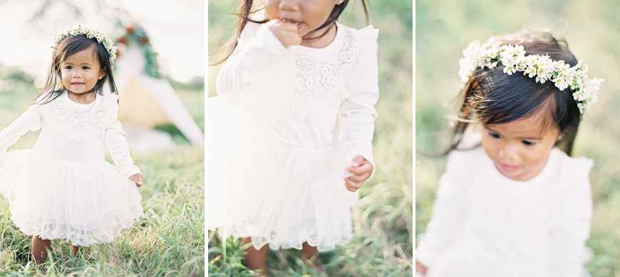 portraits of young girl by Hawaii film photographer Alisa Greig