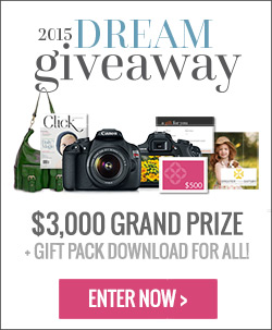 2015 Dream Giveaway from Clickin Moms