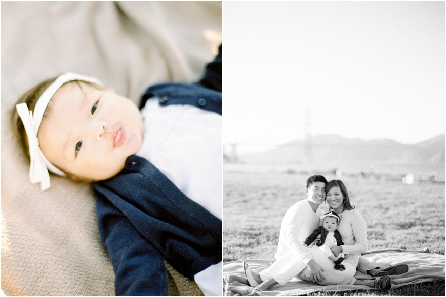photographer coco tran's film image of family at sf bay
