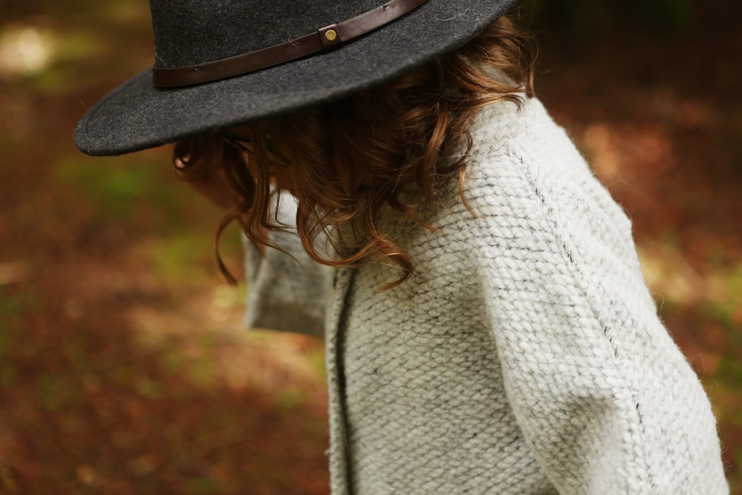 picture of a little girl in black hat by Andrea Hanki
