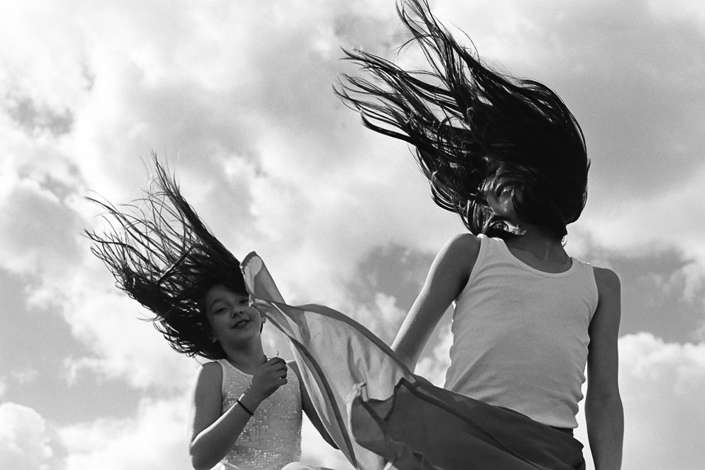 two girls with hair flying image by kiera eve
