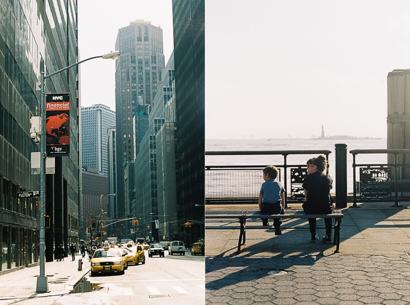 10 Children and city scenes in New York City by international film photographer Lea Jones