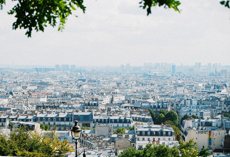 11 Cityscape of Paris France by international film photographer Lea Jones