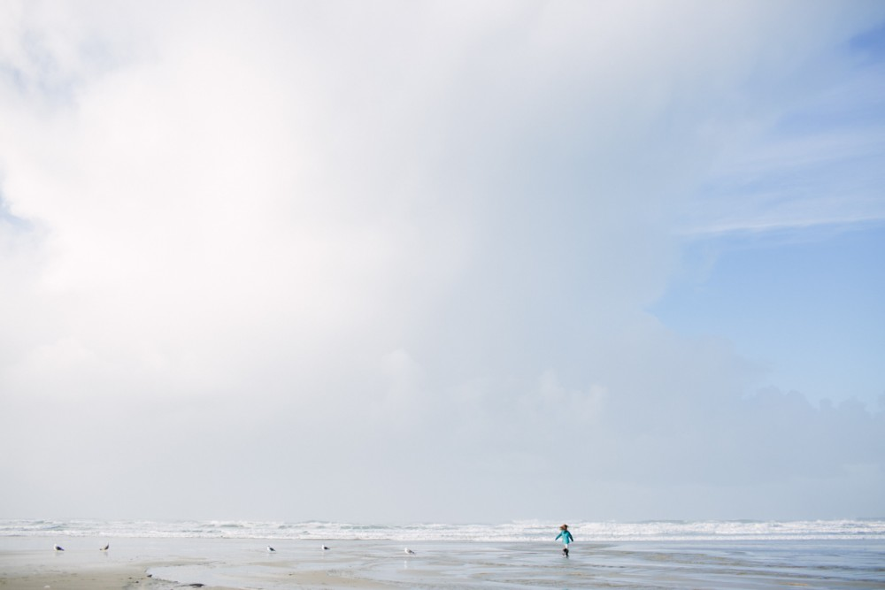 16 picture of small girl on cannon beach by photographer shelby brakken