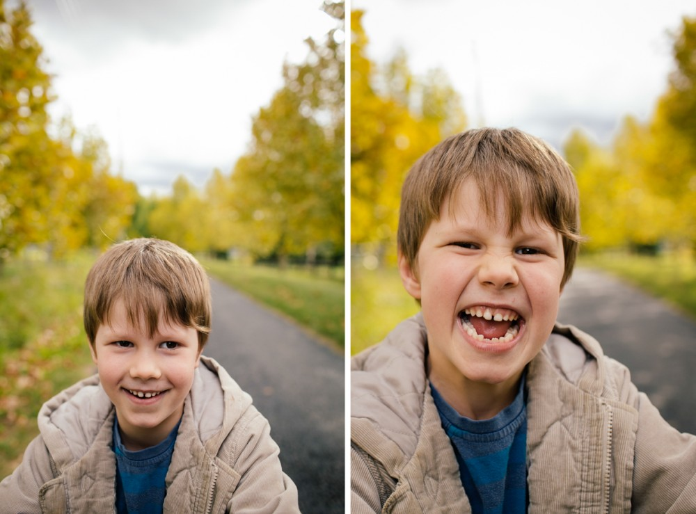 3 image of young boy close up smiling showing teeth by sheridan nilsson