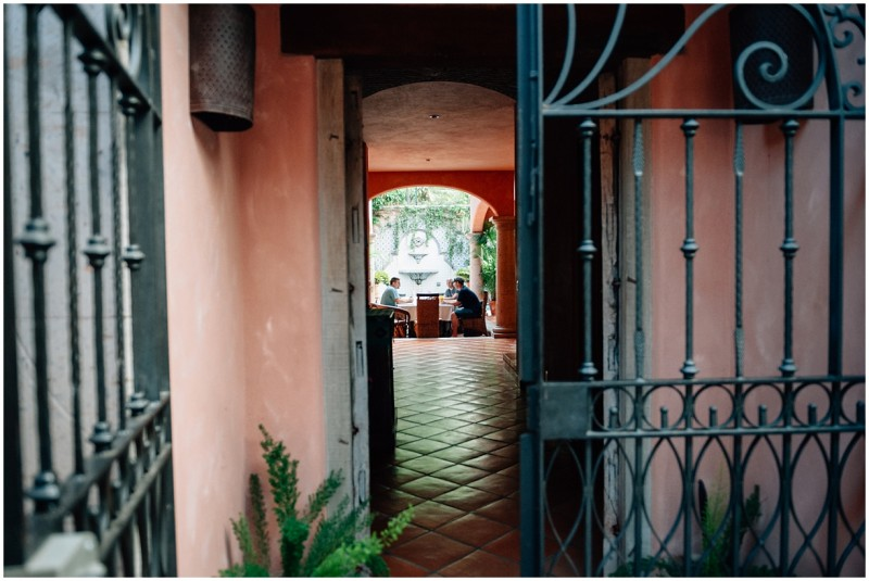 3 Looking through doorway of a home in Bucerias Mexico by photographer Danielle Hatcher
