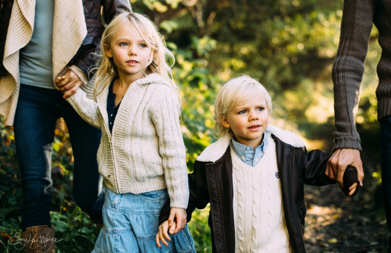 8 image of two young kids holding parents hands Vancouver Family Photographer - Emmy Lou Virginia Photography-25