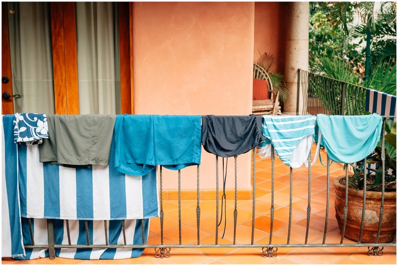9 Swimsuits hung out to dry by photographer Danielle Hatcher