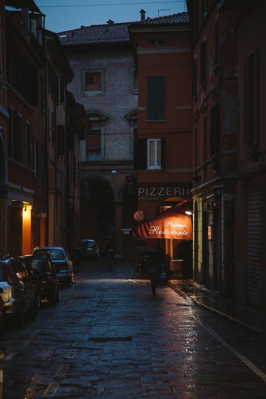 6 A pizzeria on a rainy evening in Italy by Punch Photographic
