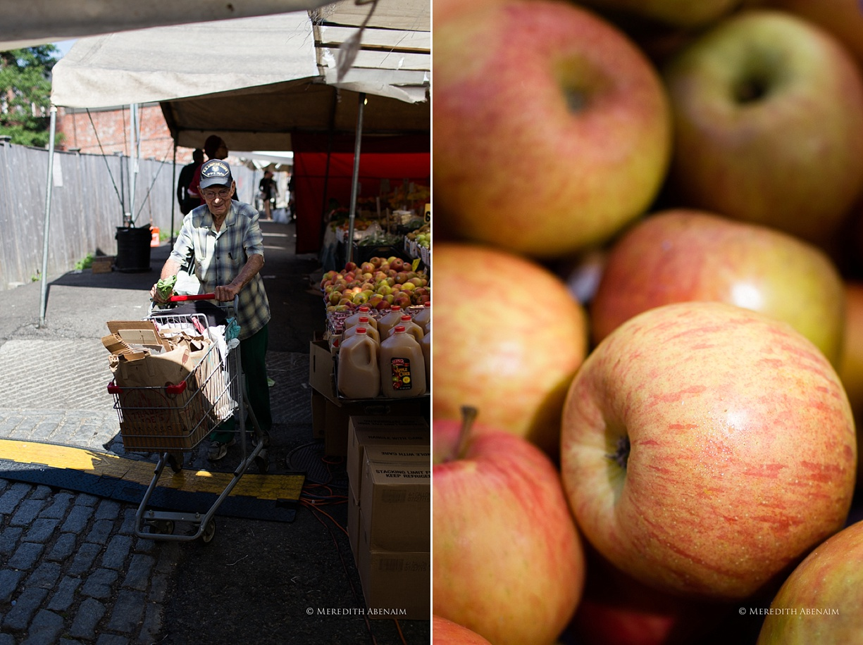 MeredithAbenaim apples at Haymarket