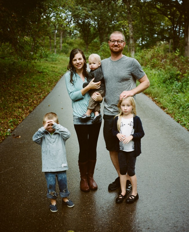 image of ryan stadler and family by