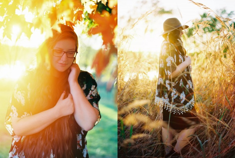 gorgeous golden shot through light on senior photo by ashley crawford