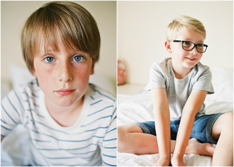 sons on white bed photos by kjrsten madsen