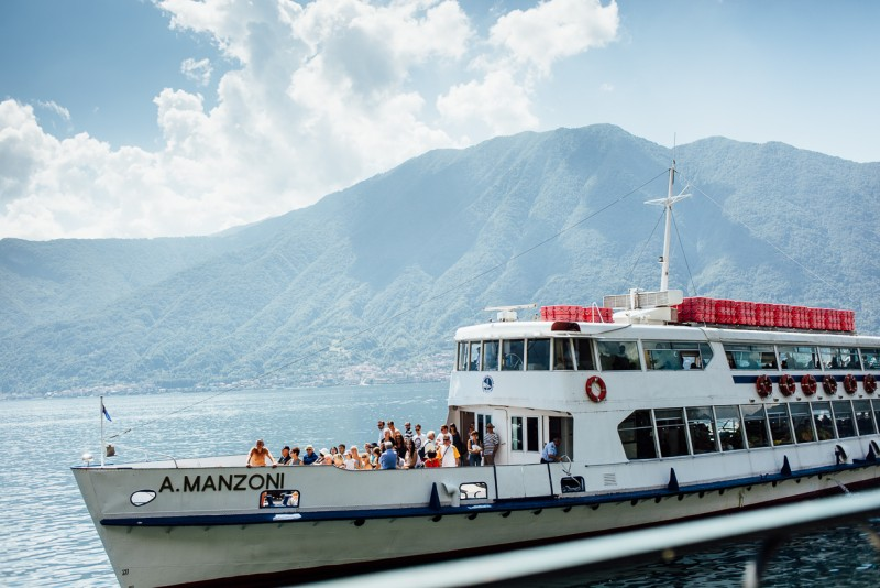 10 Ferry boat on lake como by Darcy Troutman Photography