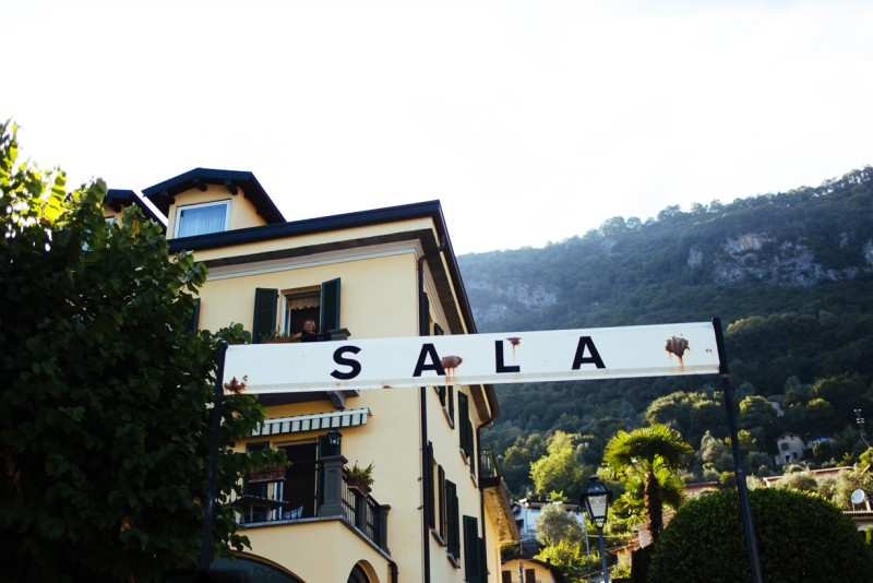 11 Sala sign on building in Italy by Darcy Troutman Photography