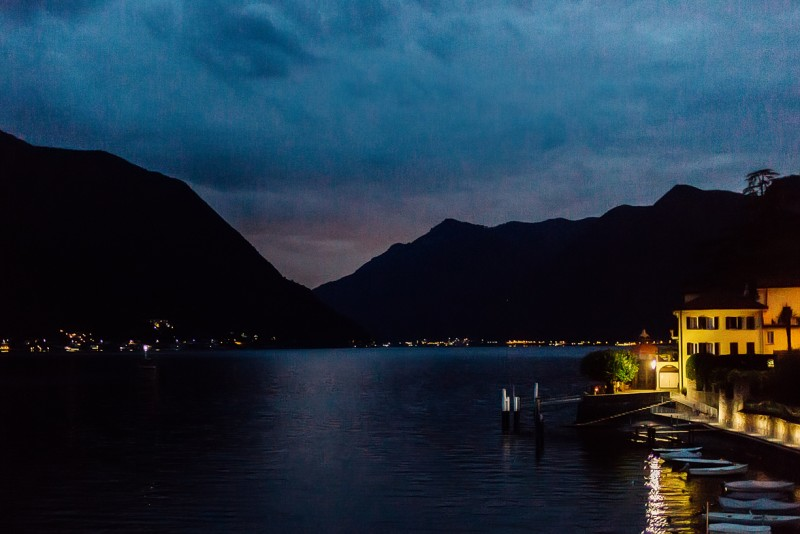 7 Lake como at night by Darcy Troutman Photography