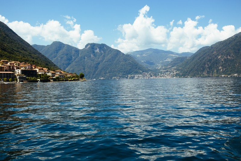 8 Lake Como on a sunny day by Darcy Troutman Photography